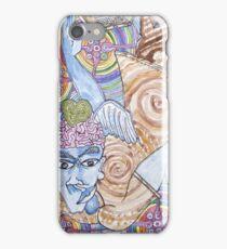 Blue Man & Dead Head iPhone Case/Skin