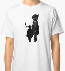 Mod Boy & Retro Scooter Classic T-Shirt