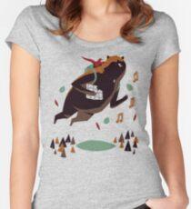 banjo kazooie Women's Fitted Scoop T-Shirt