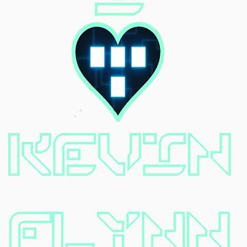 I Love Kevin Flynn by banditcar