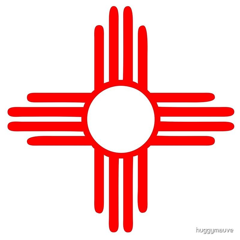 Quot New Mexico Sun Zia Indian Symbol Quot Art Prints By