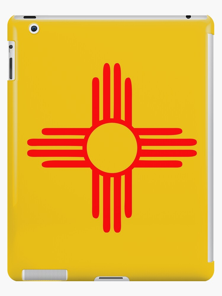 New Mexico Sun Zia Indian Symbol Ipad Cases Skins By Huggymauve