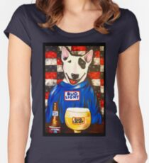 Spuds MacKenzie Women's Fitted Scoop T-Shirt