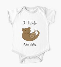 OTTERly Adorable! [Apparel & Transparent Stickers] One Piece - Short Sleeve