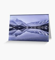 Lakes - Austria Greeting Card