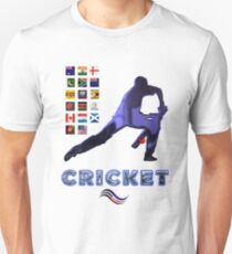 Cricket Team Squads Collectors T-Shirts sans Stickers Unisex T-Shirt