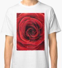 Beautiful Red Rose T-shirt design Classic T-Shirt