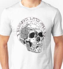 Black Majik Skull Unisex T-Shirt