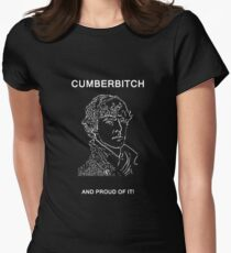 Cumberbitch and proud of it! Women's Fitted T-Shirt