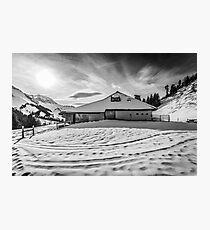 Chalet Photographic Print