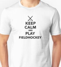 Keep calm and play Field Hockey T-Shirt