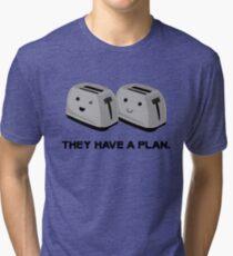 Toasters Tri-blend T-Shirt