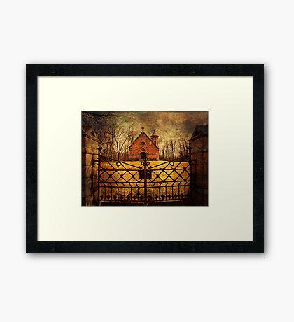 Haight Mausoleum Framed Print