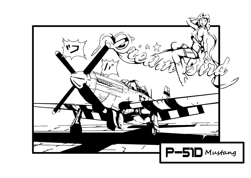 P51-D Mustang by Simon30