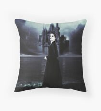 Her Ghost in the Fog Throw Pillow