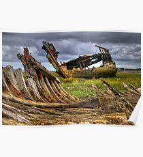 Fleetwood Marsh Wreck Poster