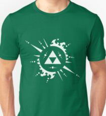 Triforce White Unisex T-Shirt