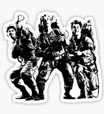 Ghostbusters Film Poster Silhouette Sticker