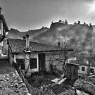 Old houses by Ivo Velinov