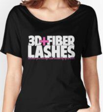 3D + Fiber Lashes Women's Relaxed Fit T-Shirt