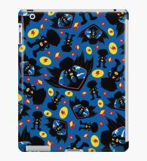 Superhero Silhouette Pattern iPad Case/Skin