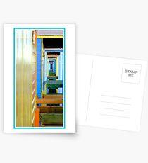 Beach hut infinity Postcards