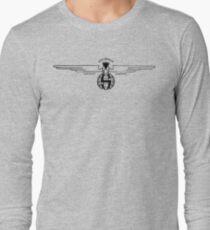 Stearman Aircraft Logo (Black) Long Sleeve T-Shirt