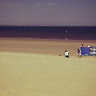 Sunday at Portobello Beach - Sunbathing by Kasia-D
