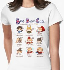Best British Cats (BBC) Women's Fitted T-Shirt
