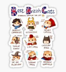 Best British Cats (BBC) Sticker