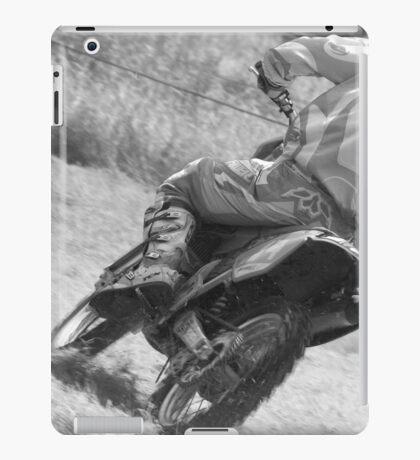 Dirt bike racing iPad Case/Skin
