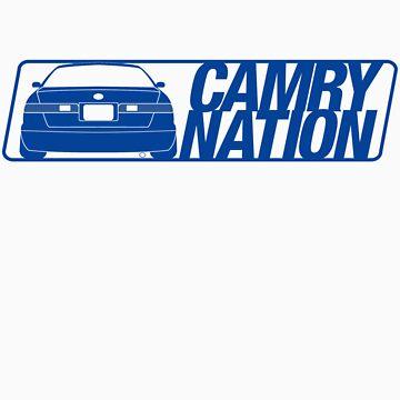 Camry Nation - Gen 4 Blue Alternate by JBezugly