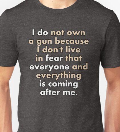 I DO NOT OWN A GUN T-Shirt