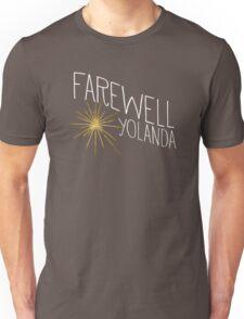 Farewell, Yolanda Unisex T-Shirt