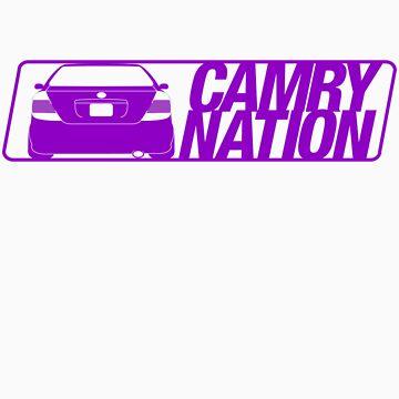 Camry Nation - Gen 5 Purple Alternate by JBezugly