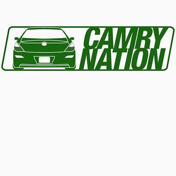 Camry Nation - Solara Gen 2 Green Alternate by JBezugly