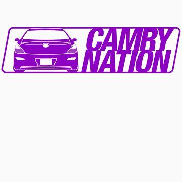 Camry Nation - Solara Gen 2 Purple Alternate by JBezugly