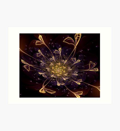 Mystic Flower Art Print