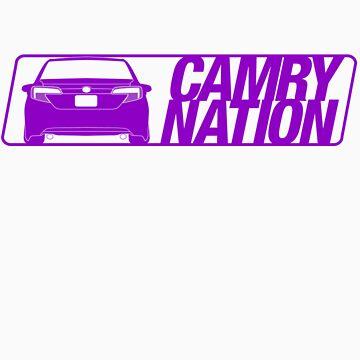 Camry Nation - Gen 7 Purple Alternate by JBezugly