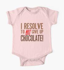 Chocolate Resolution One Piece - Short Sleeve