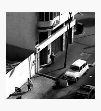 Casablanca Commuting Photographic Print