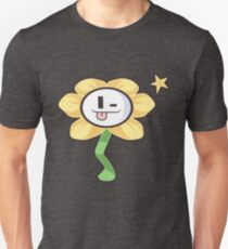 Surprisingly seductive flower from Undertale T-Shirt