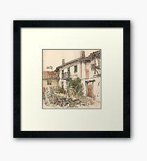 Casa en el Otero, Guardo Framed Print