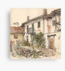 Casa en el Otero, Guardo Canvas Print