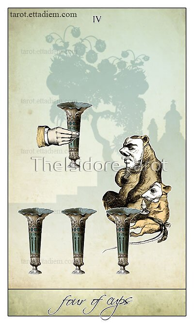 The Minor Arcana - Four of Cups by TheIsidoreTarot