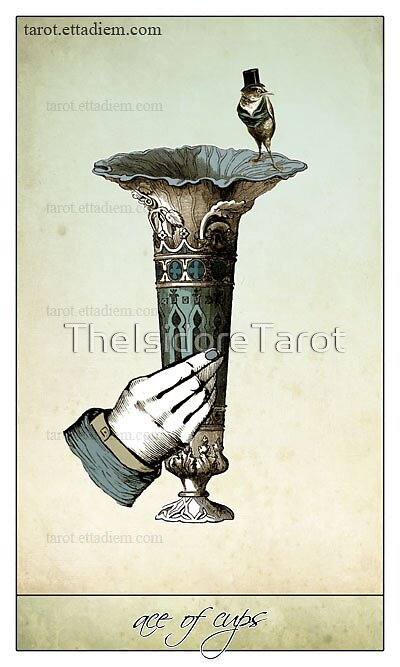 The Minor Arcana - Ace of Cups by TheIsidoreTarot