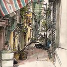 Alley in Kowloon by Adolfo Arranz