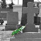 The Festive Headstone by rosaliemcm