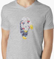 Summer fresh Panda Men's V-Neck T-Shirt