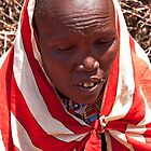 Adult Masai Woman by phil decocco